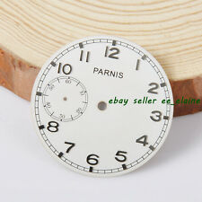 Watch Parts, Parnis 38.79mm White Dial for 6497 Hand Winding Movement Watch Dial