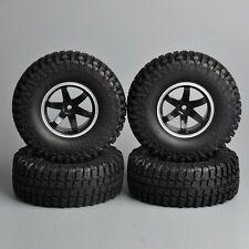 Scale 1:10  R/C Model Rock Crawler Car Tire Tyre Wheel Rims Set of 4PCS 1.9in