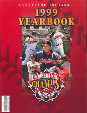1999 CLEVELAND INDIANS BASEBALL YEARBOOK JACOBS FIELD ERA