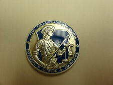 CHALLENGE COIN TJAG AIR NATIONAL GUARD COUNCIL JUDGE ADVOCATE PARALEGAL FREEDOM