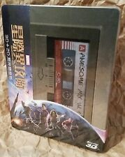 Marvel GUARDIANS OF THE GALAXY Blu-Ray 3D + 2D TAIWAN STEELBOOK OOP SOLD OUT