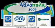 OLYMPIC PINS 2004 ATHENS GREECE COSMOTE OTE SPONSOR