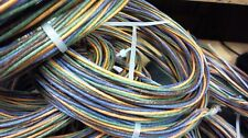 JULY special,10ft coil Western Electric factory twiste 24g solid,cloth,4-wire,
