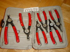 SNAP-ON TOOLS 6 PIECE CONVERTIBLES RETAINING RING SNAP RING PLIERS SET PRH406