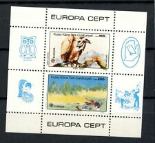 Turkey Cypriot Posts 1986 SG#MS187 Europa Nature Bird MNH M/S #A35815