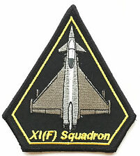 RAF 11 Squadron RAF XI(F) Typhoon Operations Military Crested Embroidered Patch