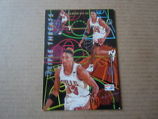 Carte - Fleer' 94/95 - Triple Threats - Scottie Pippen / Hakeem Olajuwon