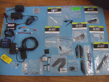 Blade E-Flite Parts Lot, Rotor Blades, Batteries, Chargers, Many Other Parts,