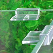 4Pcs Supporto Per Acquario Serbatoio Pesce Vetro Copertura Acrilica Clip
