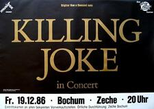 "KILLING JOKE TOUR POSTER / KONZERTPLAKAT ""BRIGHTER THAN A THOUSAND SUNS TOUR 86"""