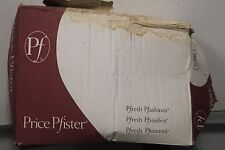 Price Pfister 01-30 3 HANDLE 1/2IPX1/2IP Chrome Tub& Shower Faucet