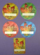 Queen + Paul Rogers - Original N.A. Tour Passes 2006 - Unused Stock !