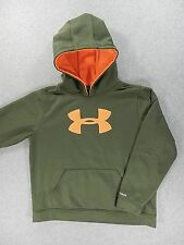 Under Armour Performance Loose Fit Hoodie Sweatshirt (Youth XL) Green