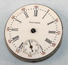 WALTHAM O size HUNT CASE POCKET WATCH MOVEMENT! Parts or Repair    LY1371