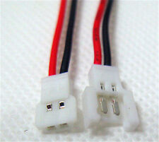 JST-DS LOSI 2.0MM 2-Pin Connector plug male female with Wire  X 20sets