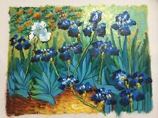 Hand-painted Oil Painting Famous Vincent Van Gogh Irises On Canvas Home Decor