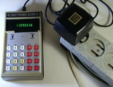 Vintage Soviet Russian Ussr Calculator Elektronika B3-18A .  1980.