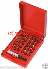 "KS Tools 1/4"" BIT-SORTIMENT 31-TLG. IN METALLB 911.2047 Bit Box"