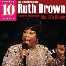 Ruth Brown Essential Recordings Ms B's Blues Music Cd Blues, Grammy Bonnie Raitt