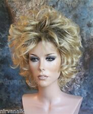 Curls Womans Drag Short Blonde/Black/Brown/Auburn U Choose Colour Wig/wigs