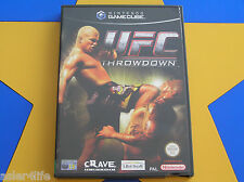 UFC THROWDOWN - GAMECUBE - Wii Compatible