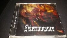 EXTERMINANCE Vomiting the Trinity Death Metal Autopsy Grave Funerus Mausoleum