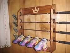 Golf Club Display Rack Case New for 4 Rare Scotty Cameron Putters & 4 Headcovers
