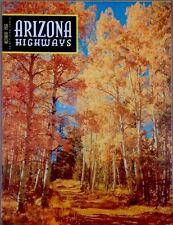 Arizona Highways October  1956 Vintage Magazine-Yesterdays Remembered