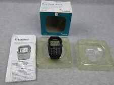 Vintage Radio Shack Data Bank Digital Watch 63-5026 Wristwatch w/ box Phone Book