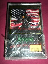 VENOM AMERICAN ASSAULT LIVE SEALED CASSETTE TAPE 1985 HEAVY BLACK METAL COMBAT