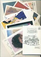"""""""KUFIA"""" - Matite Italiane per la Palestina cofanetto di 18 cartoline illustrate"""