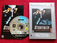STUNTMAN  ORIGINAL PLATINUM RELEASE SONY PLAYSTATION 2 PS2 PAL