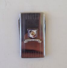 vintage Money Clip PLEASANT VALLEY Country Club KNIFE & FILE enameled GOOD SHAPE
