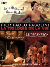Affiche 120x160cm PIER PAOLO PASOLINI : LA TRILOGIE DE LA VIE - R2002 NEUVE