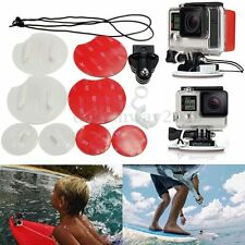 Security Surfing Mount Adapter Pack FCS Surfboard Tether For GoPro Hero 4 3+ 3 2