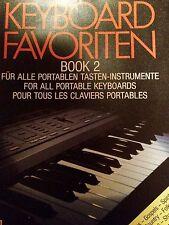 Keyboard Favoriten Book 2 - für alle Tasteninstrumente