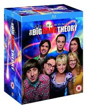 The Big Bang Theory: Seasons 1-8 [Blu-ray Box Set, Region A & B, 16-Disc] NEW