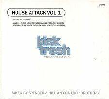 HOUSE ATTACK = Axwell/Lake/Fedde/Thoneick/Carey/Rincon/STFU...= Grooves Deluxe !