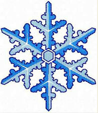 "Snowflakes 10 Machine Embroidery Designs set 4""x4"" hoop"