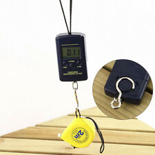 40kg/10g Suitcase LCD Digital Fishing Hang Electronic Scale Hook Weight Tool SU7