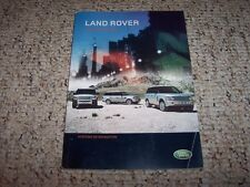 2008 Land Rover LR3 SE & HSE Factory Navigation System Owner Manual Book