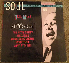 "Soul Shots vol.4""Tell Mama"" Screamin' Soul Sisters Rhino LP 70040 Etta James"