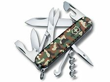 1.3703.94 VICTORINOX SWISS ARMY CLIMBER Camouflage POCKET KNIFE 14 Tools NEW !