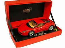 1:18 BBR Ferrari 458 Italia 8C 2009 Rosso Corsa 322 Beige Inside UNIQUE ON EBAY