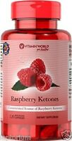 RASPBERRY KETONES **500MG!** PURITANS x60 CAPSULES Diet/Weight Loss Supplement