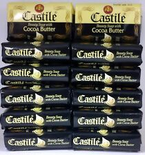Castile Beauty Soap with Cocoa Butter - 3.9 oz - 12 Pack