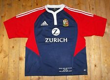 BRITISH LIONS 2005 Tour Rugby Union MATCH DETAIL EMBROIDERY AWAY Shirt - LARGE