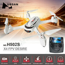 Hubsan H502S X4 Desire 5.8G Transmission Real-time FPV RC Drone GPS 720P Camera
