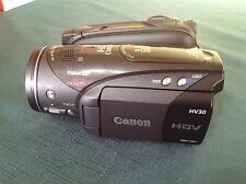 Canon HV30E Camcorder (PAL)boxed Excellent Condition