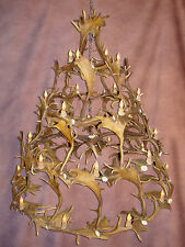 4TIER FALLOW DEER ANTLER CHANDELIER BY CDN, 28 RUSTIC LODGE LAMPS, LIGHTING